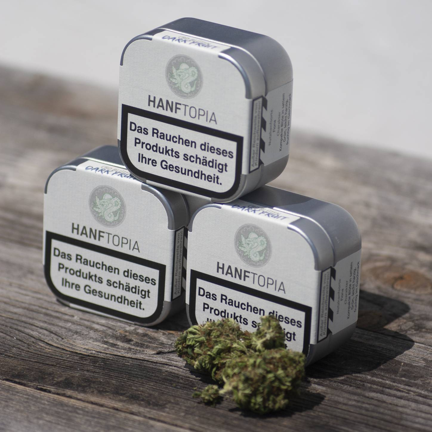 Packaging CBD-Blüten