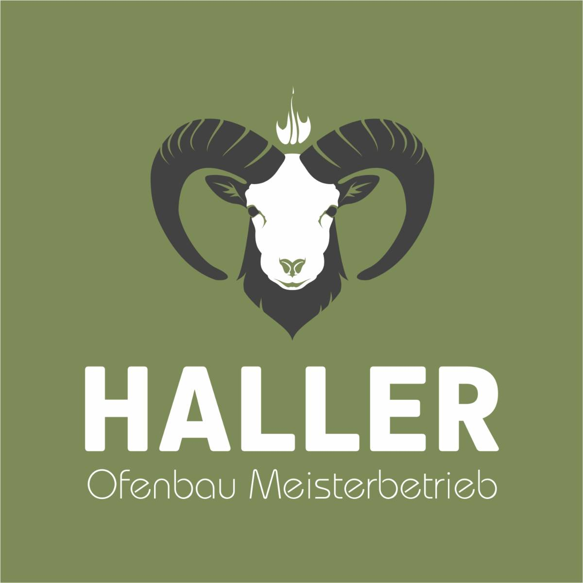 Corporate Design | Haller - Ofenbau Meisterbetrieb